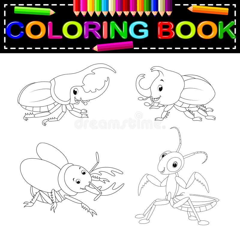昆虫彩图 皇族释放例证