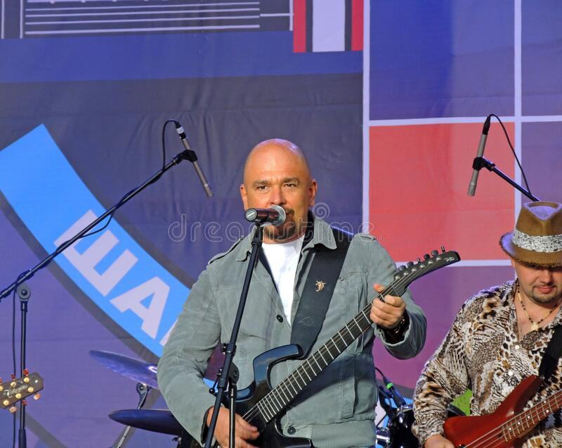 昌森2012年莫斯科,卢日尼基 谢尔盖·特罗菲莫夫 免版税库存图片