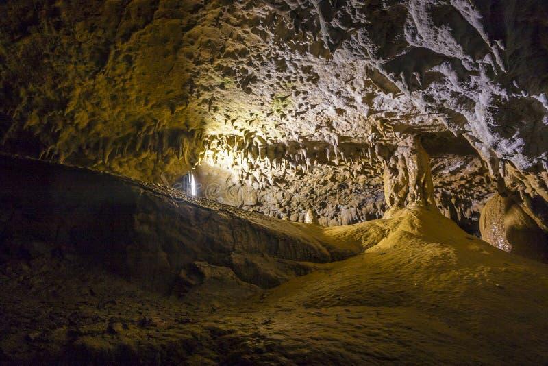 明亮和五颜六色的洞Abrskil 免版税图库摄影