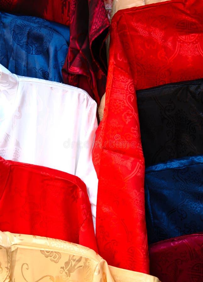 明亮的丝绸 免版税图库摄影