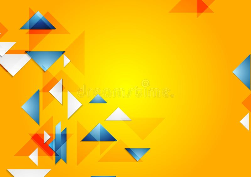 Download 明亮的传染媒介几何背景 向量例证. 插画 包括有 格式, 钞票, 橙色, 手册, 框架, 靠山, 可弯的 - 59111722