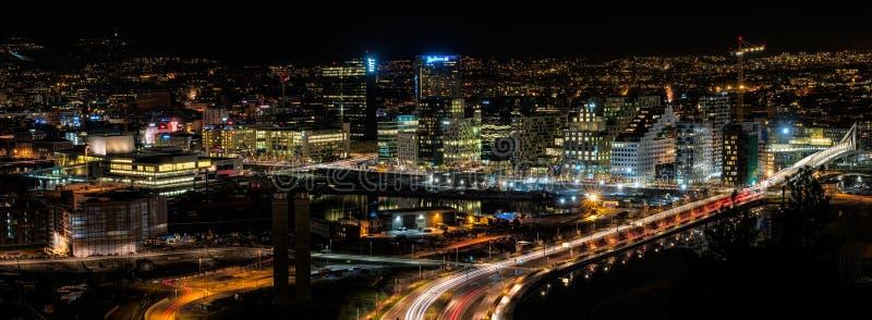 明亮的光,大城市II 库存照片