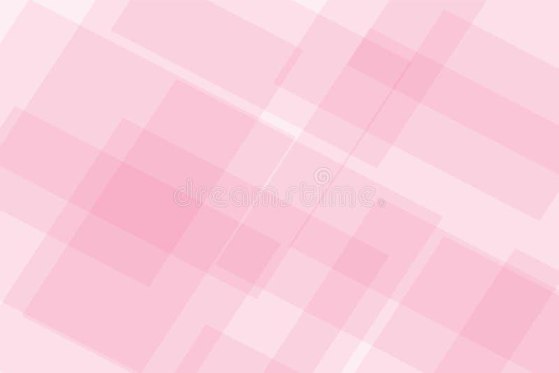 明亮的彩色玻璃马赛克背景 与万花筒几何装饰品的无缝的样式 方格的墙纸 向量例证