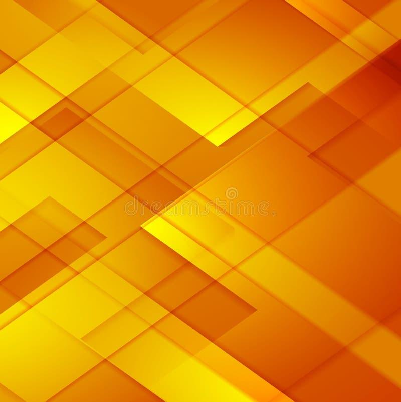 明亮的抽象几何技术背景 库存例证