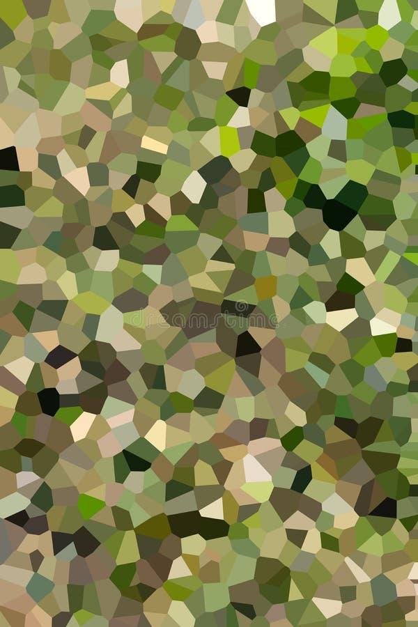 明亮的抽象圆bokeh背景被加点的晚上 库存例证