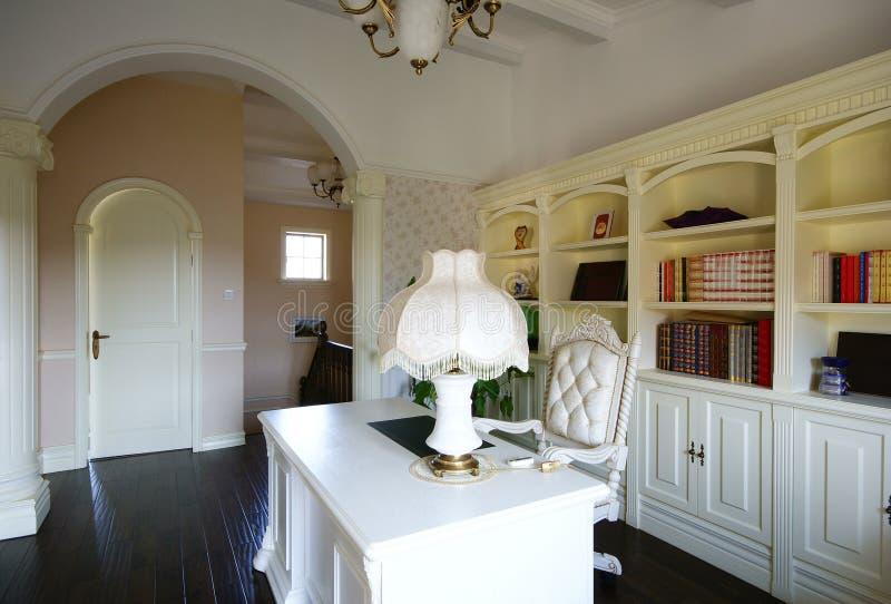 明亮的方便的房子 免版税库存照片