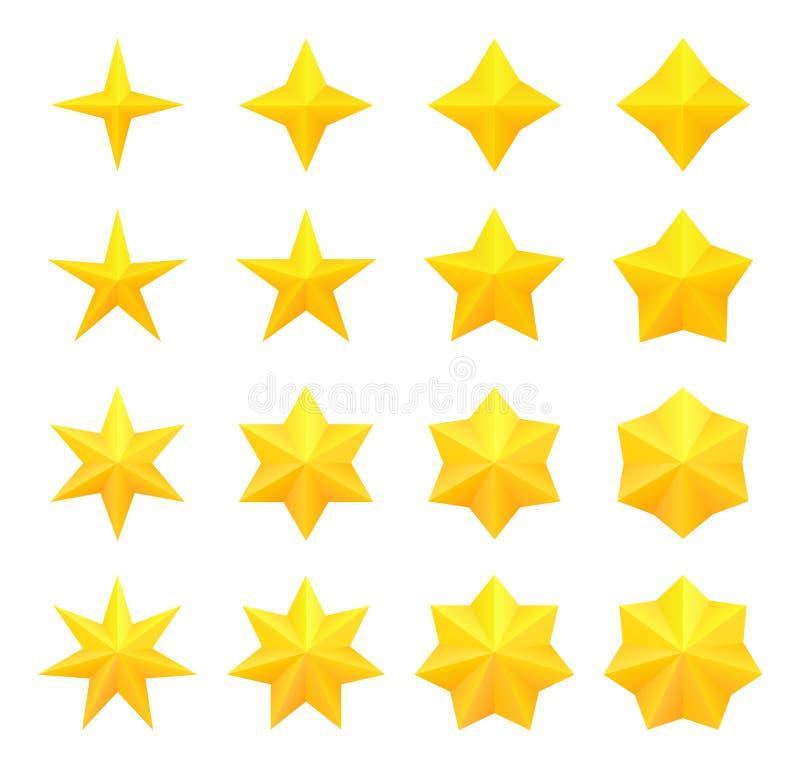 明亮的星收藏 皇族释放例证