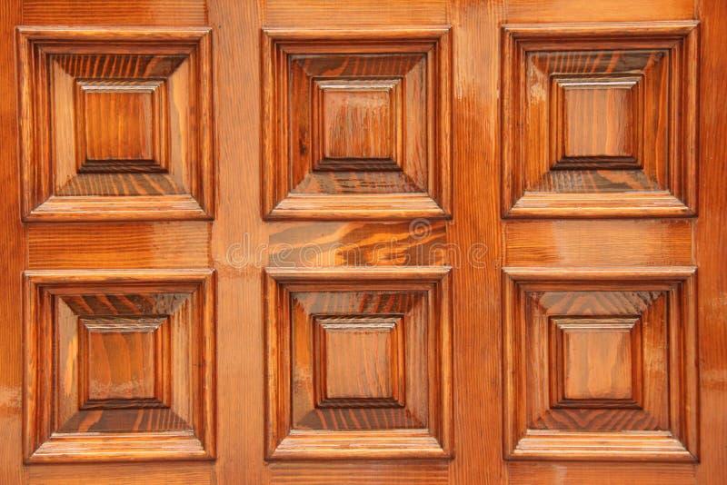 明亮的木门元素 赤土陶器正方形 元素的 库存图片