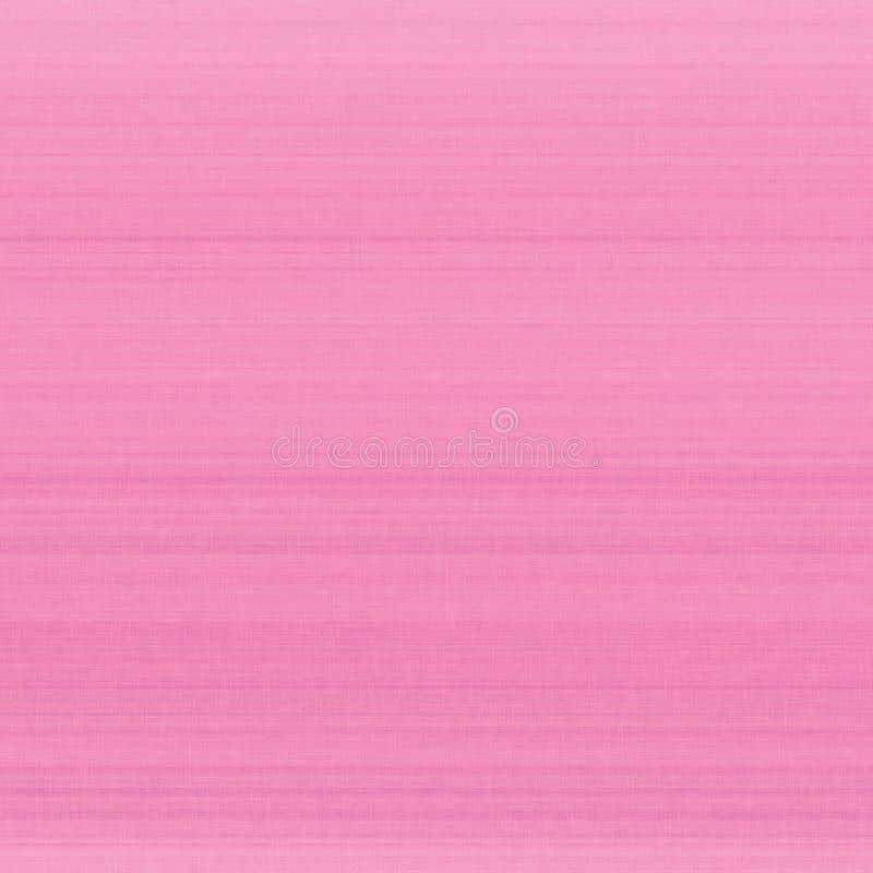 明亮的桃红色淡色纤维亚麻制纹理样片背景,详细的水平的宏观特写镜头,土气葡萄酒构造了织品粗麻布 免版税库存图片
