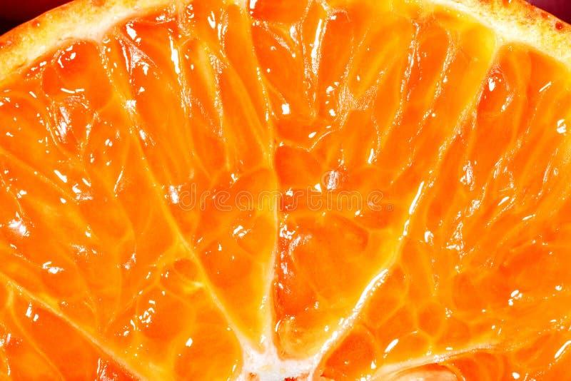 明亮的橙色柑橘 库存照片