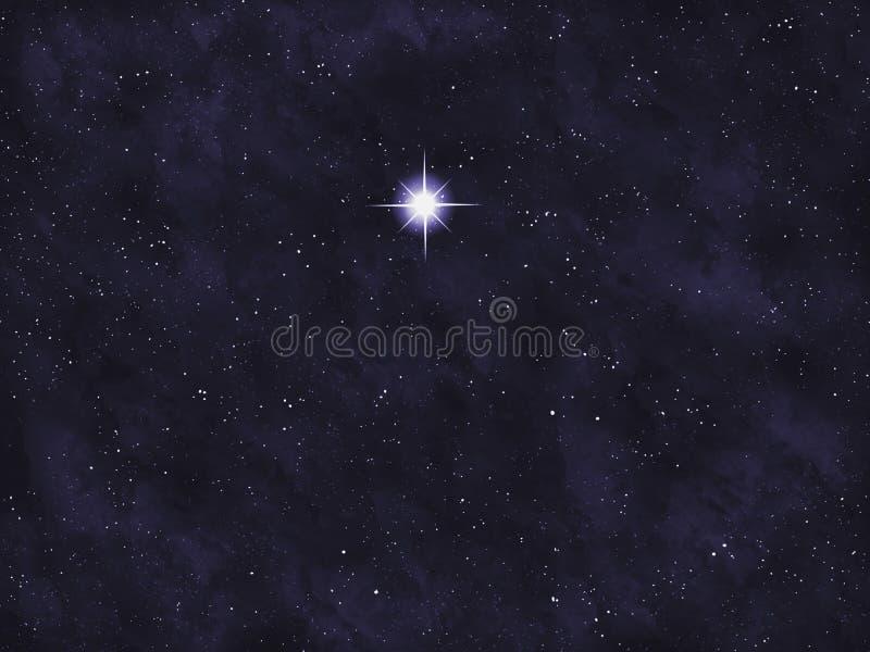 明亮的系列星形starfield 免版税库存照片