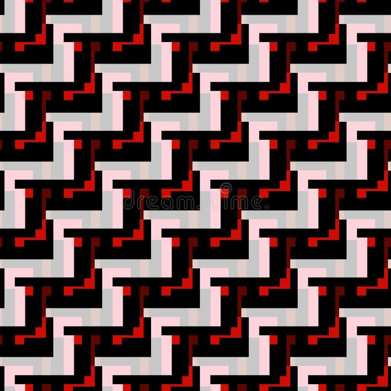 明亮的色的多角形摘要几何背景 皇族释放例证