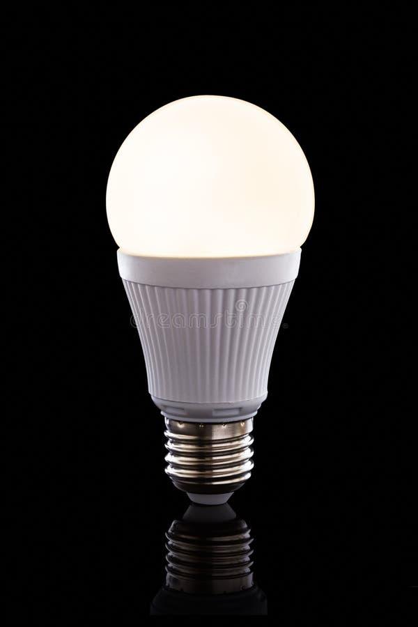 明亮的被带领的电灯泡 免版税图库摄影