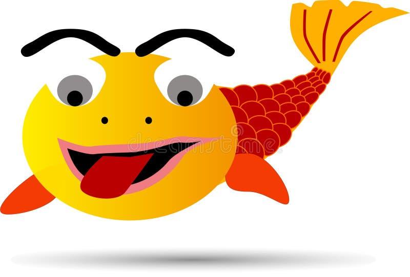 明亮的鱼 免版税库存图片
