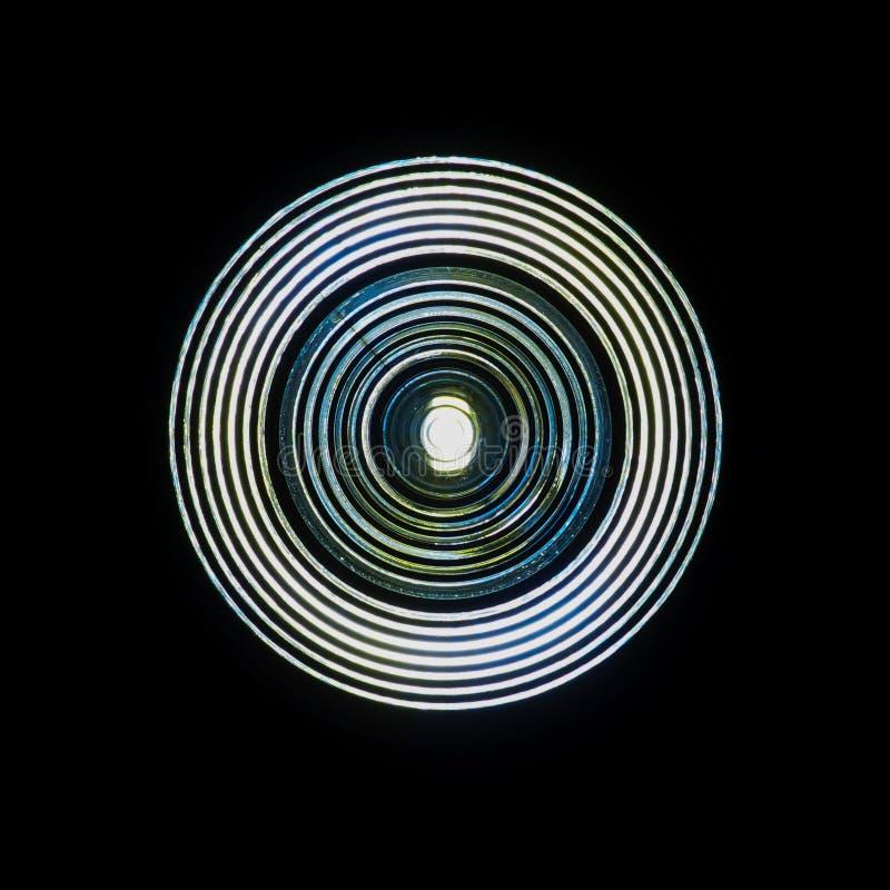 明亮的LED光 免版税库存图片
