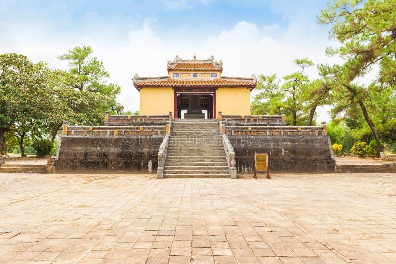 明命帝,颜色北京皇城国王坟茔  库存图片