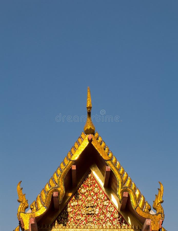黎明寺在曼谷 免版税库存照片