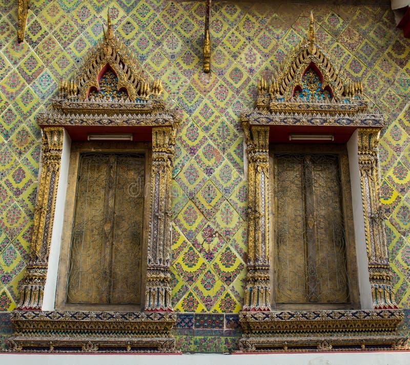 黎明寺在曼谷 库存图片