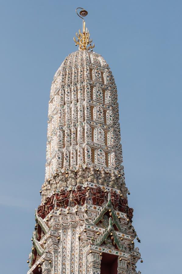 黎明寺Stupa 免版税库存照片