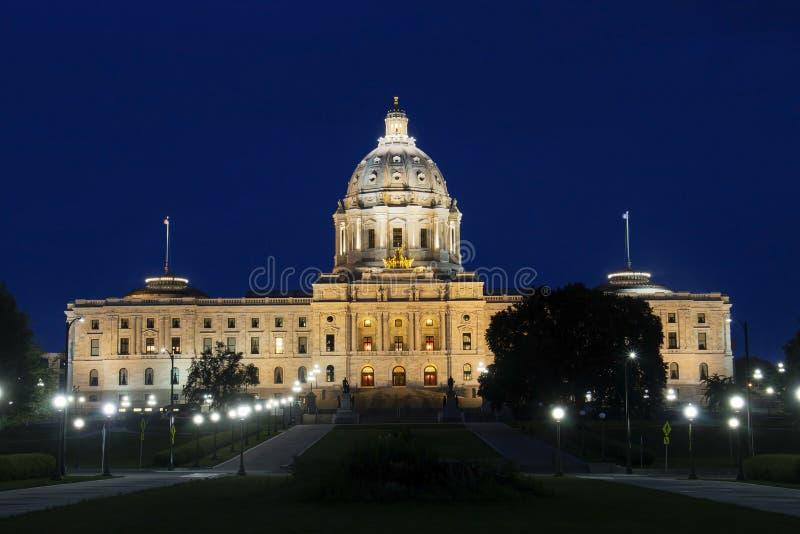 明尼苏达州议会大厦 免版税库存照片