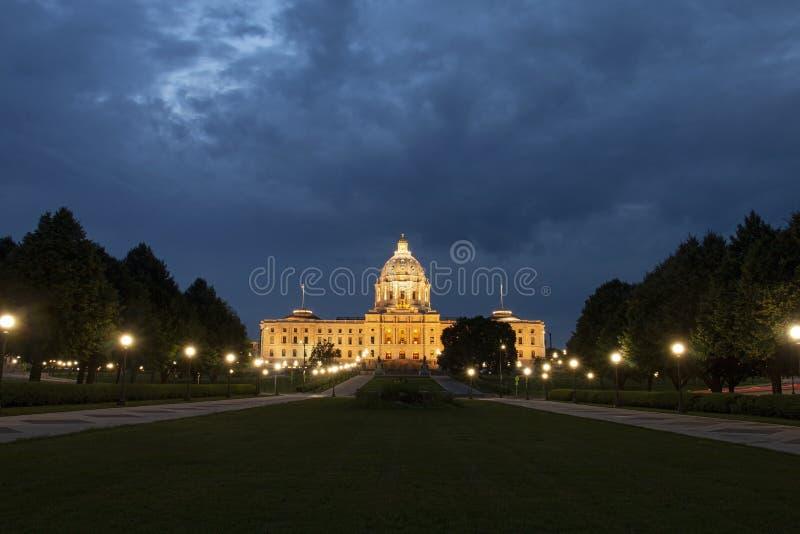明尼苏达州议会大厦 免版税库存图片