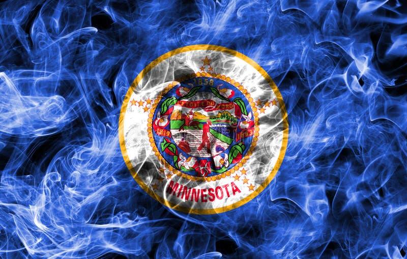明尼苏达状态烟旗子,美利坚合众国 免版税库存照片