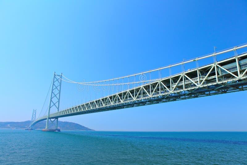 明石桥梁kaikyo 图库摄影