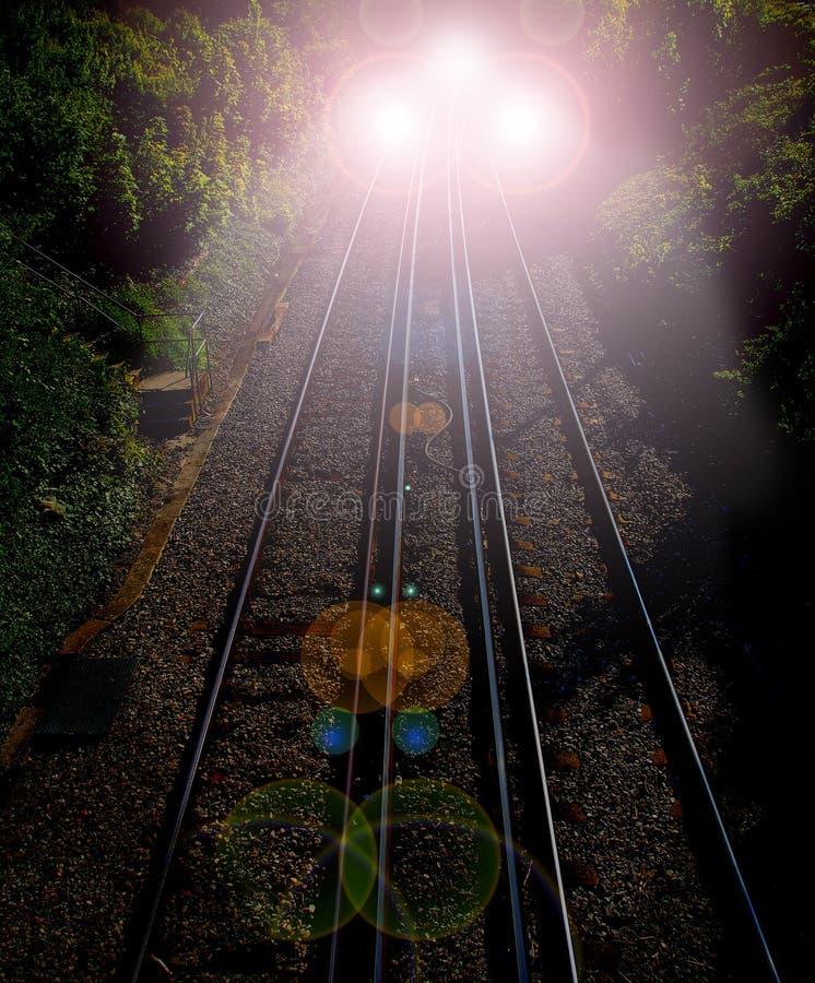明确的夜间列车