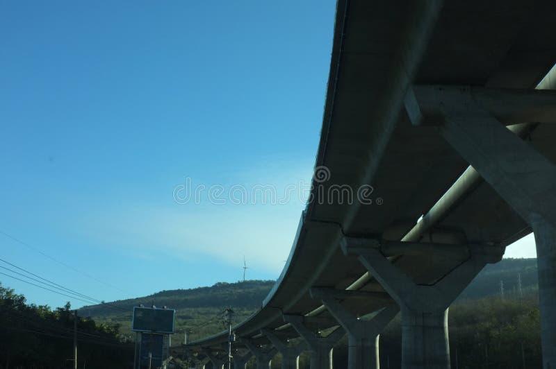 明确高速公路 库存照片