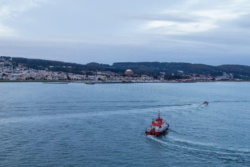 黎明领航船在旧金山 免版税库存照片