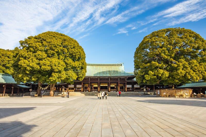 明治神宫在东京,日本 图库摄影
