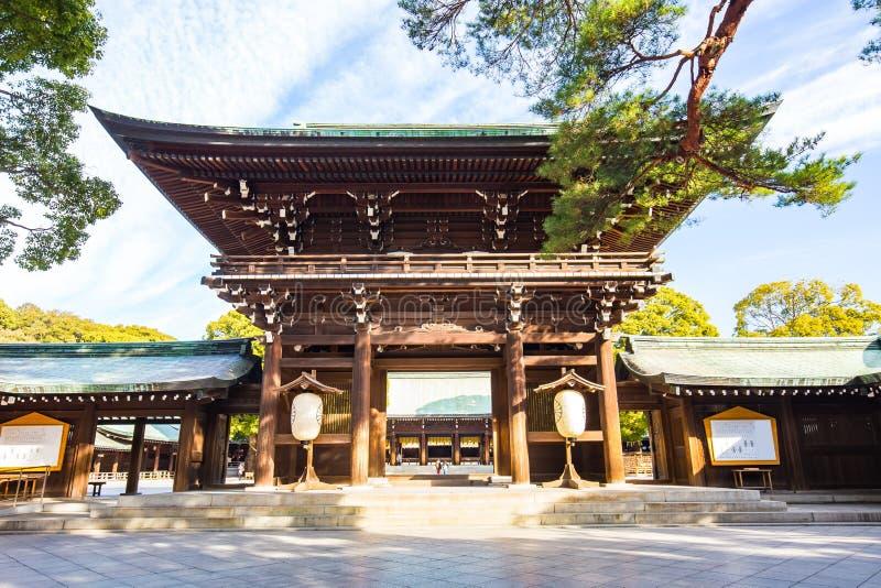 明治神宫在东京,日本 库存图片