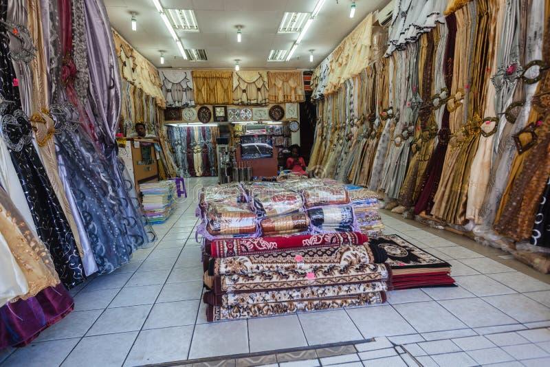 贸易的织品界面德班 图库摄影