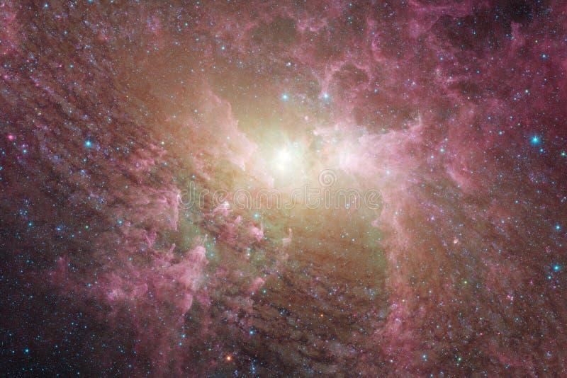 星、星系和星云在令人敬畏的宇宙图象 免版税库存图片