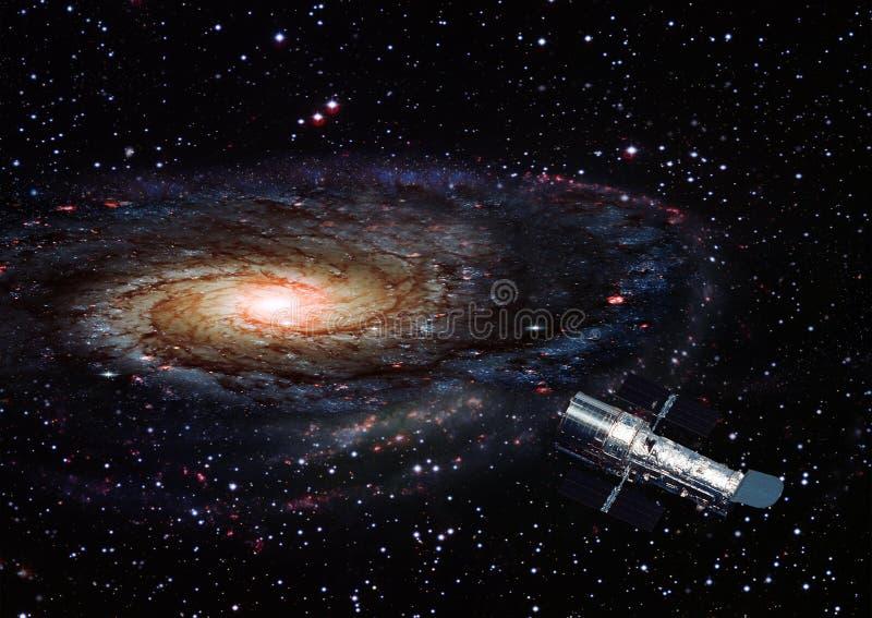 星云和星在空间 免版税库存图片