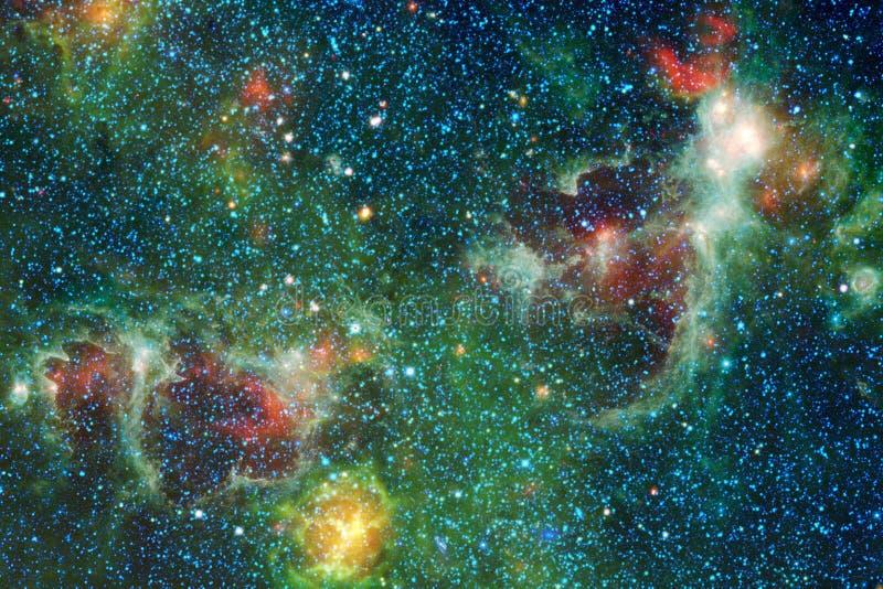 星云 适用于墙纸的外层空间图象 向量例证