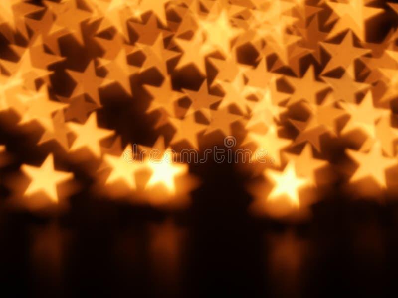 星光圣诞节 图库摄影