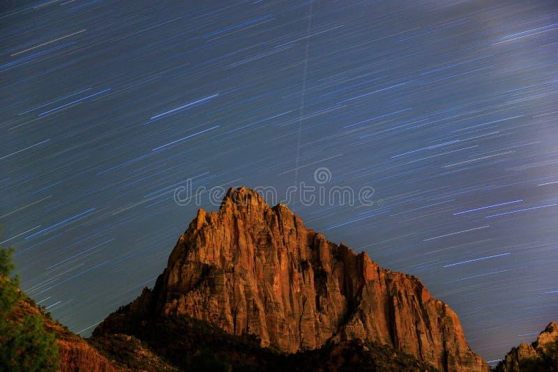 星和岩石 免版税图库摄影