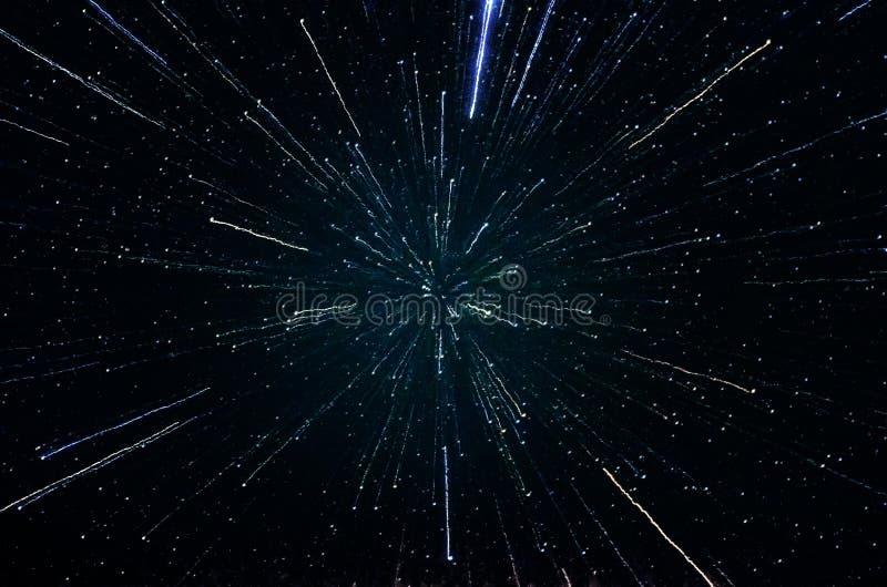 星和星系外层空间天空夜宇宙背景 图库摄影