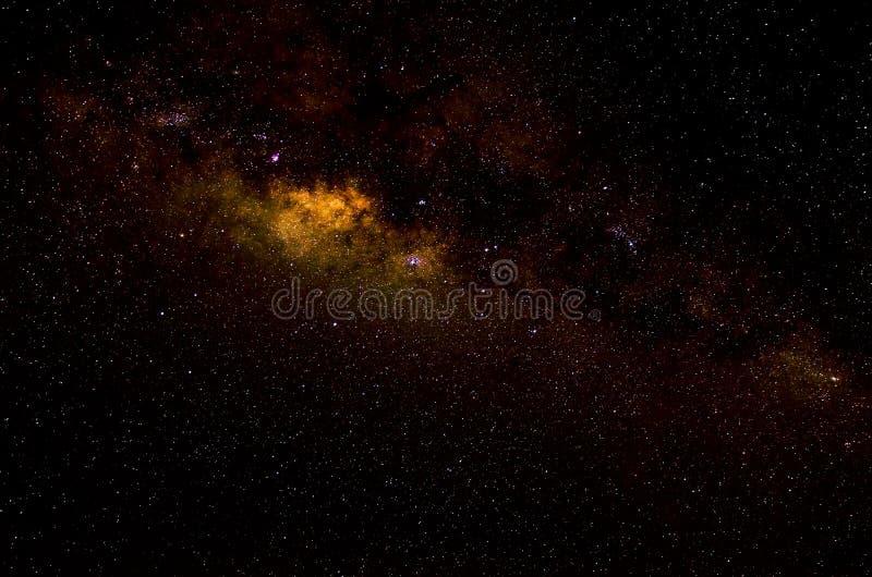 星和星系空间天空夜背景 图库摄影