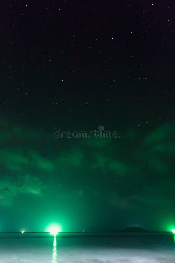 星座在天空的大熊座 库存照片