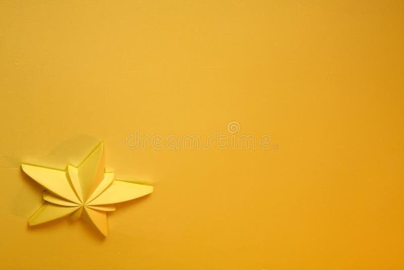 星形黄色 免版税库存照片