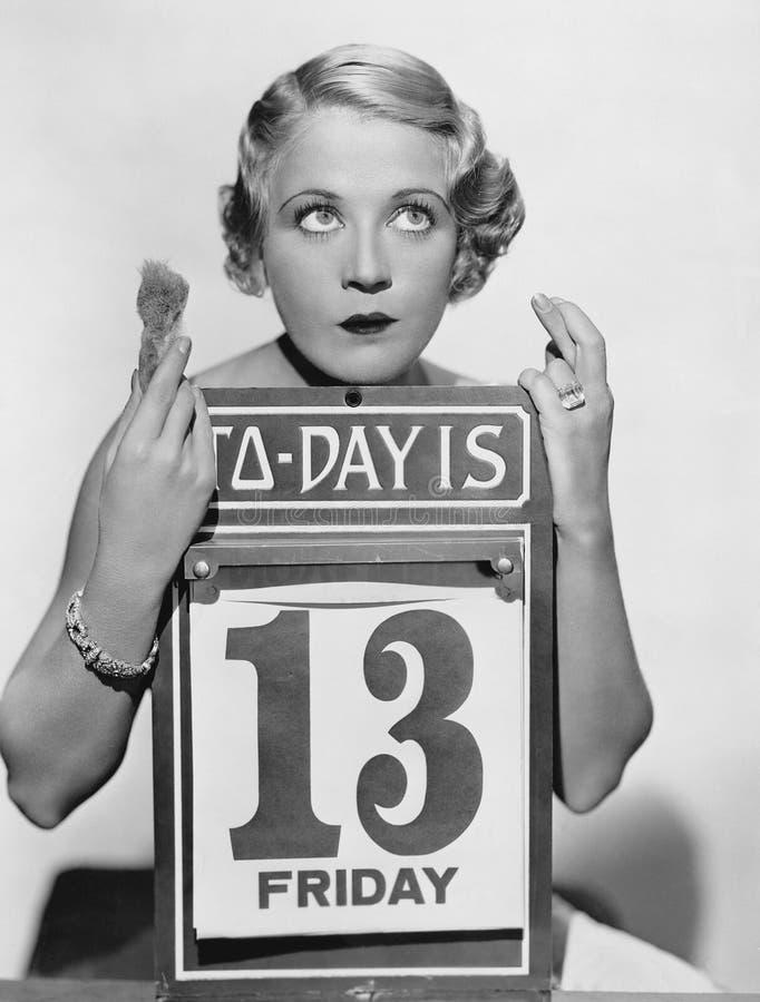 星期五第13 (所有人被描述不更长生存,并且庄园不存在 供应商保单将没有模型 免版税库存照片