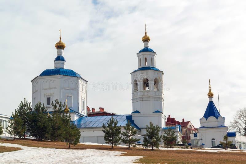 星期五Paraskeva教会在喀山,俄罗斯 库存图片