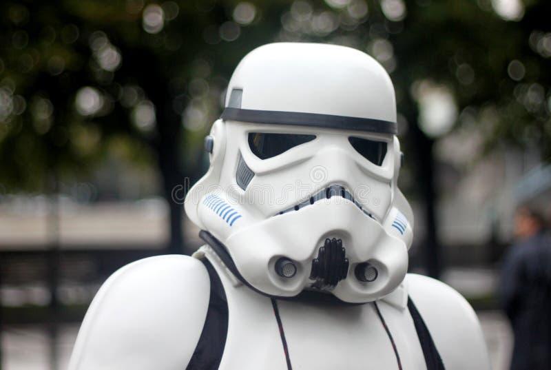 星球大战警官:cosplay节日在莫斯科 免版税库存照片