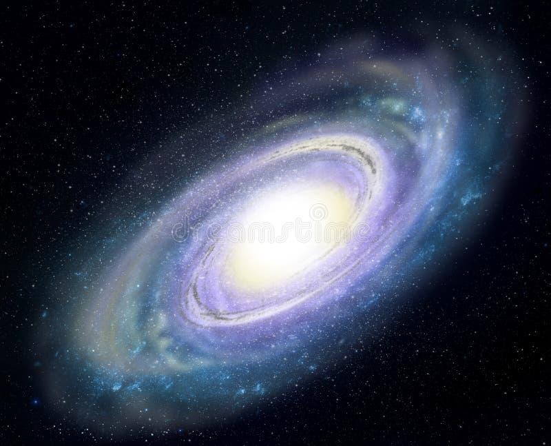 星系螺旋 皇族释放例证