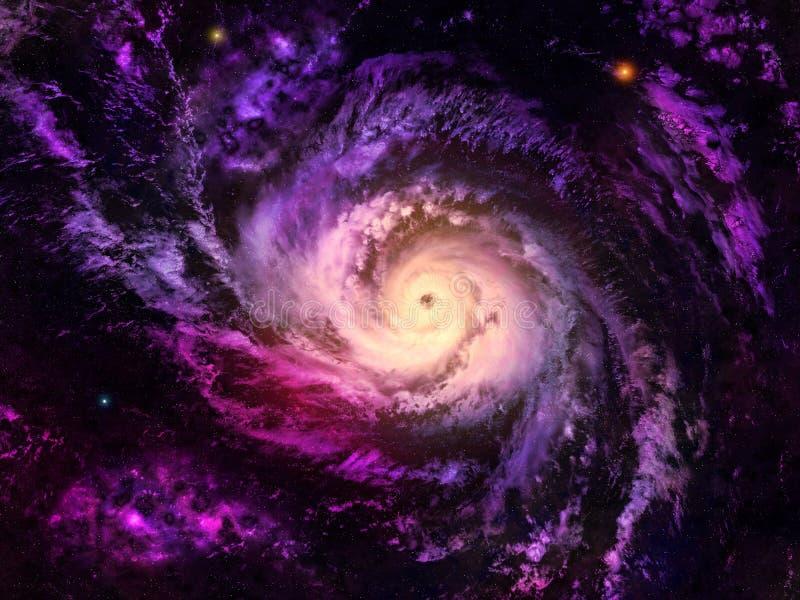 星系 库存例证