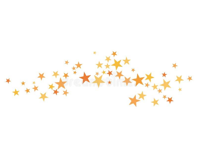 星背景模板 免版税库存照片