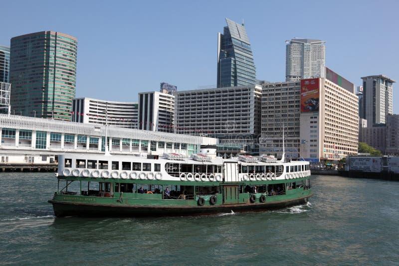 星轮渡在香港 库存图片