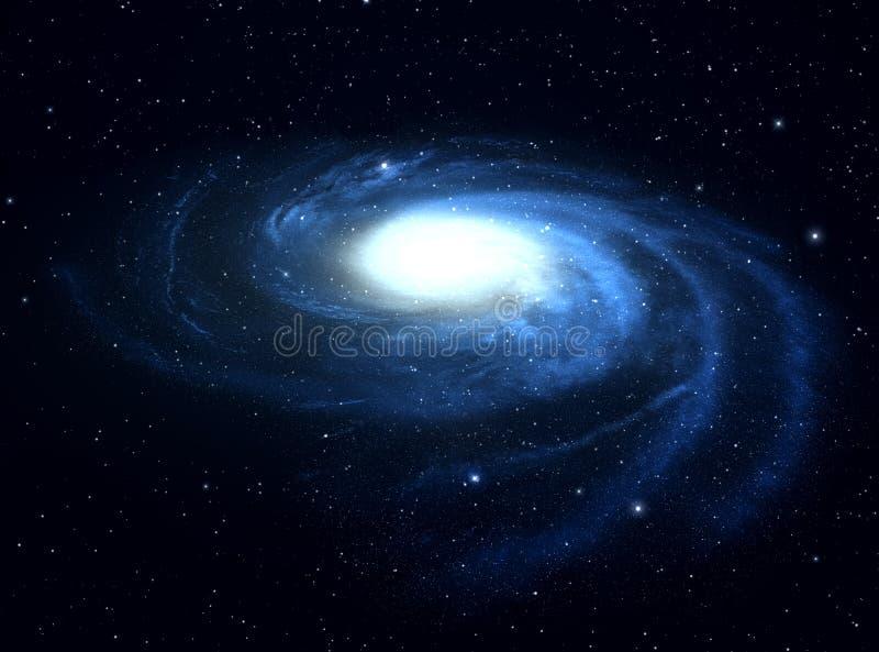 星系。 库存例证